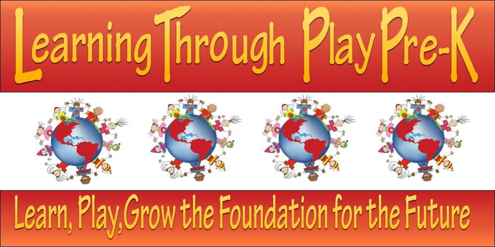 Learning Through Play, Universal 3k/PreK Center logo