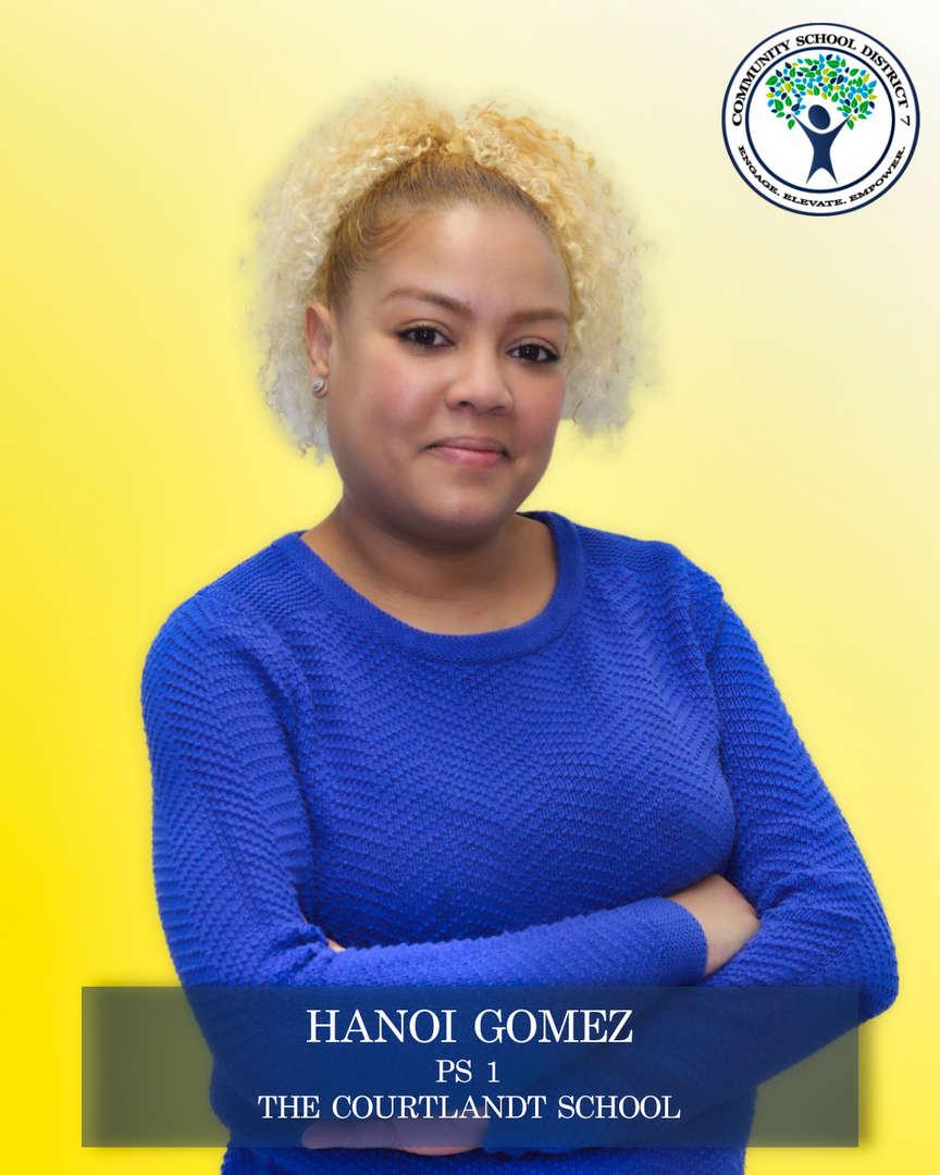 Hanoi Gomez, Parent Coordinator