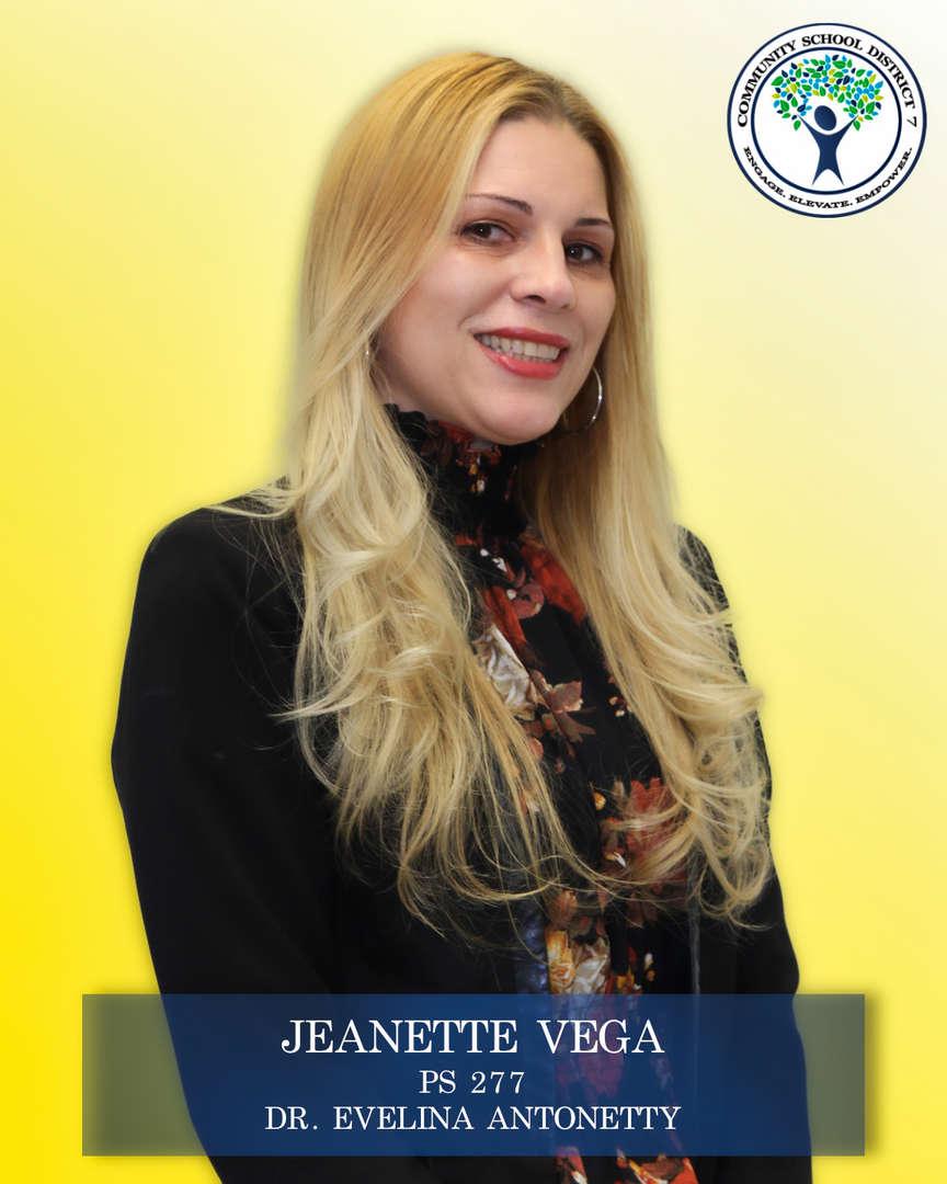 Jeanette Vega, Parent Coordinator