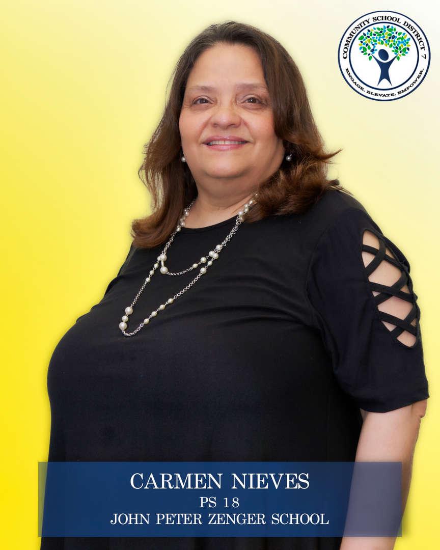 Carmen Nieves, Parent Coordinator