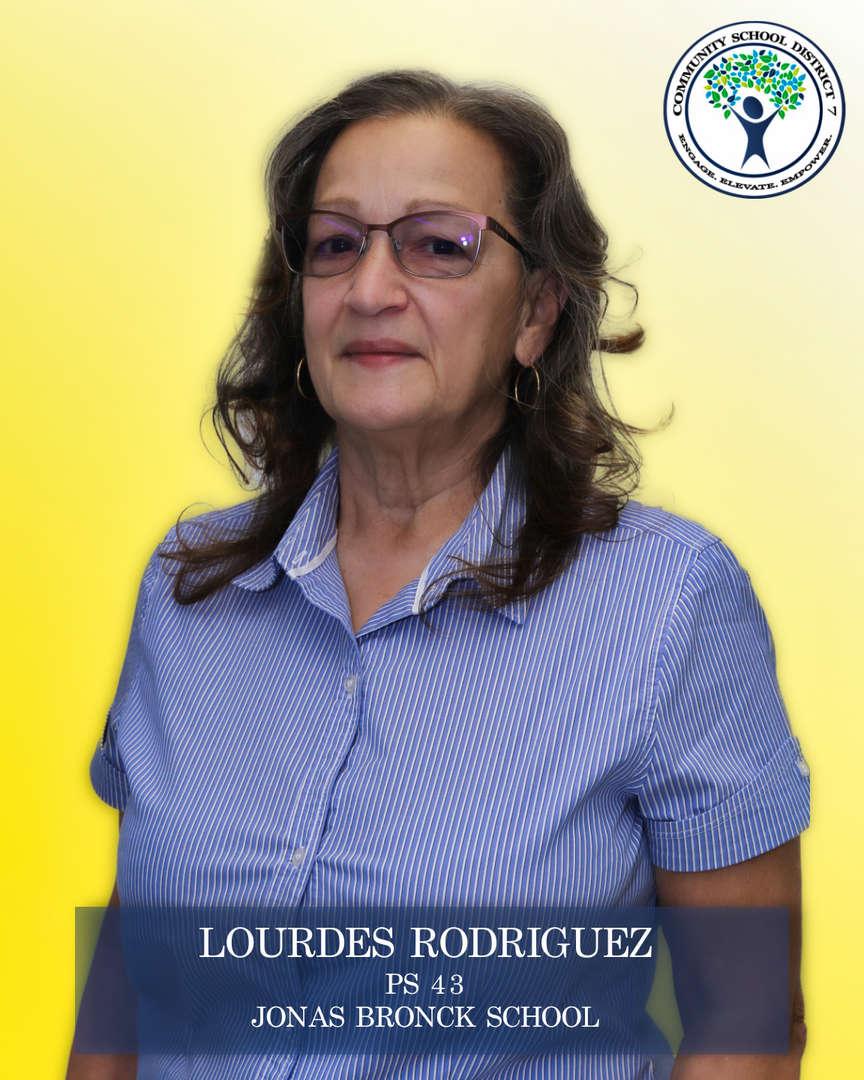 Lourdes Rodriguez, Parent Coordinator
