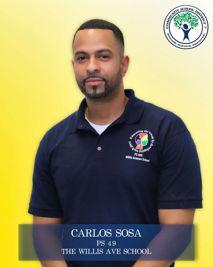 Carlos Sosa, Parent Coordinator