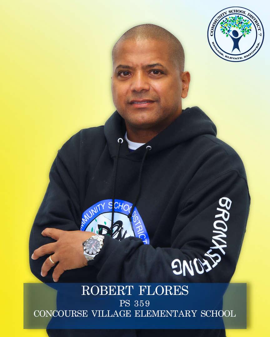 Robert Flores, Parent Coordinator