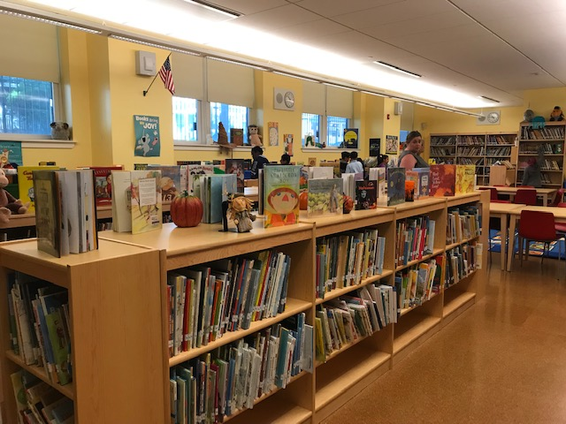 School library is ready for students.