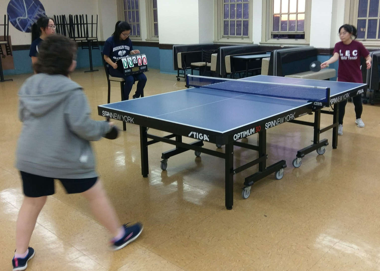 PSAL Table Tennis Match
