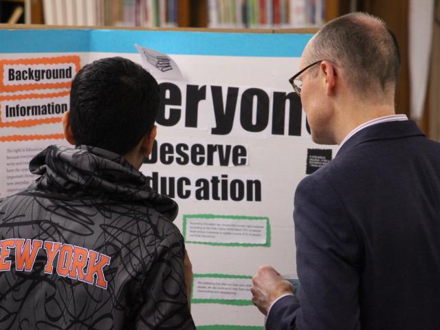 Activism Project Student Presentation