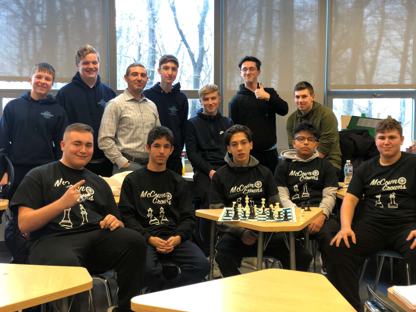 The McCown Crowns Chess team