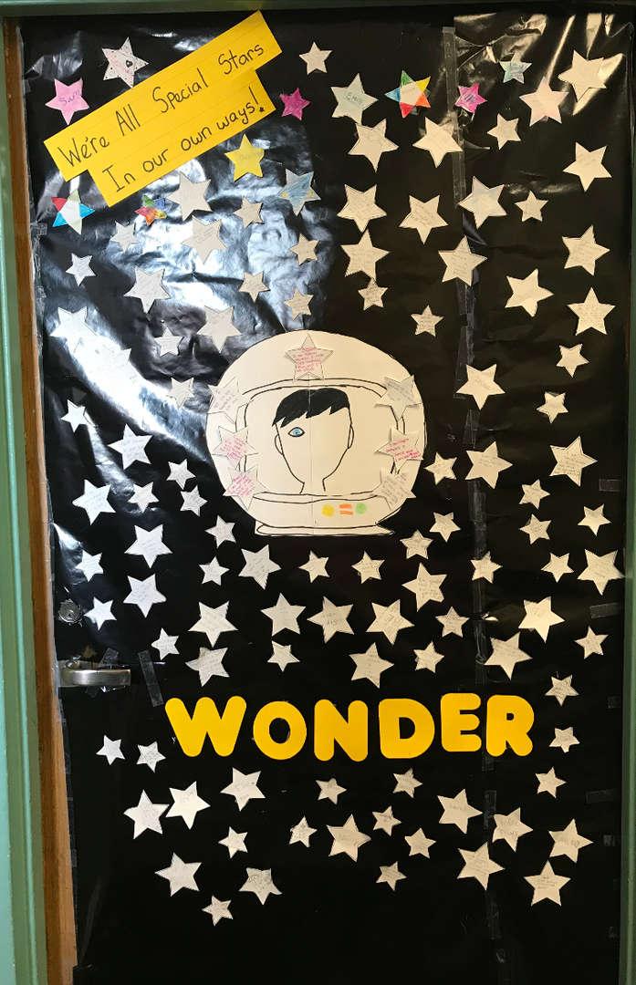 Science Room Door Wonder Book