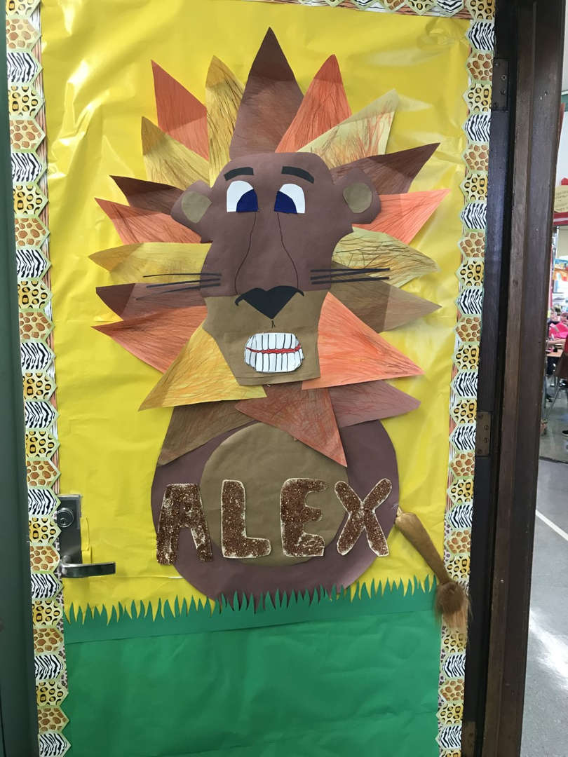 Room 204 Alex the Lion