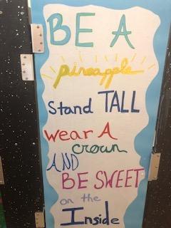 Be a pineapple door