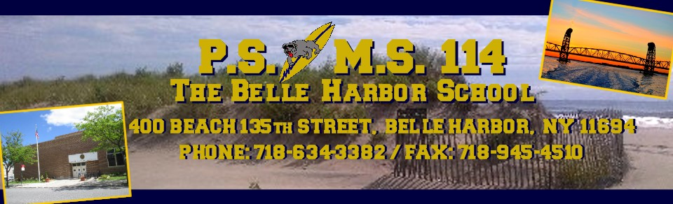 400 Beach 135th Street Belle Harbor. NY 11694 Phone 7186343382  Fax 7189454510