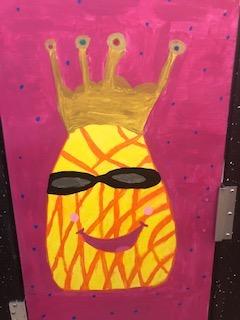 Pineapple Door