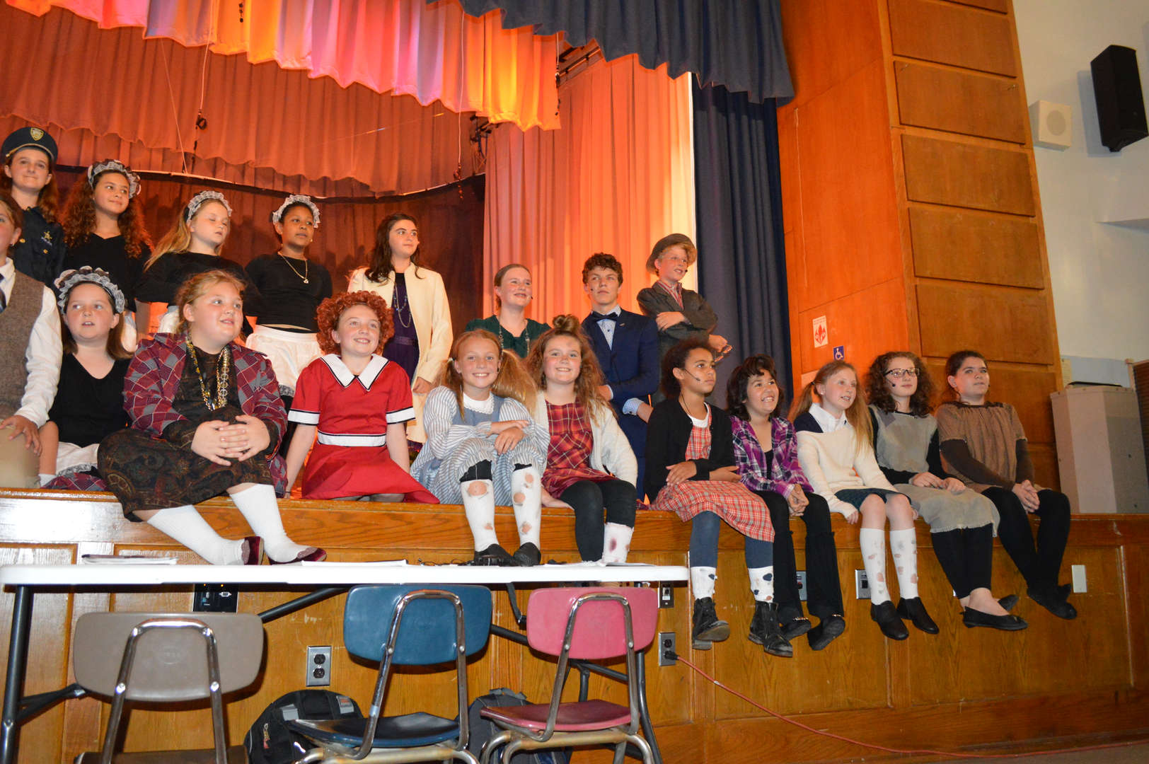 RAA Performance of Annie 9