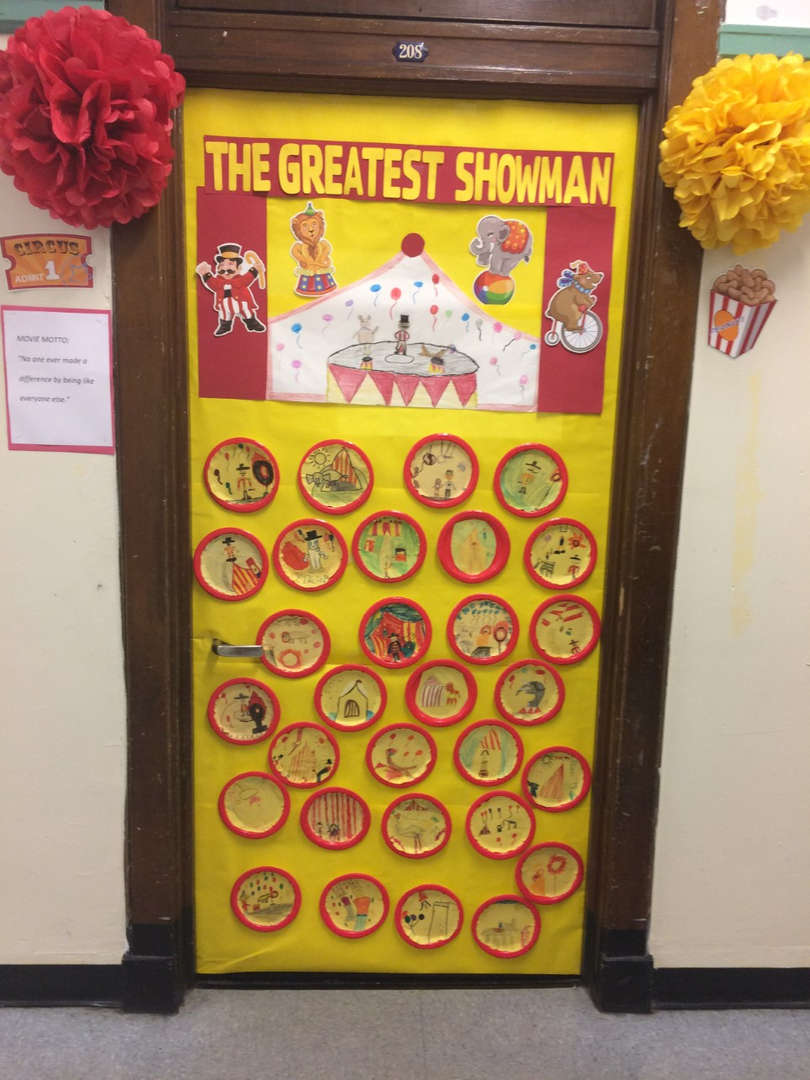 Room 208 The greatest Showman