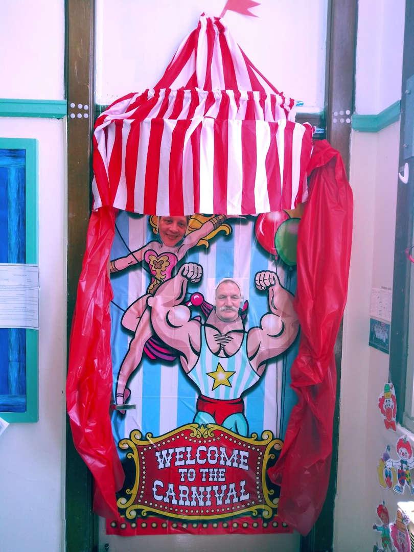 Science Room Door Carnival
