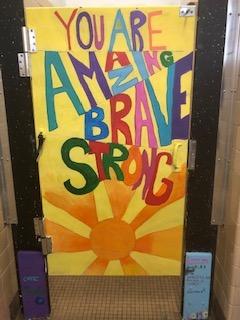 Amazing Brave Strong Door