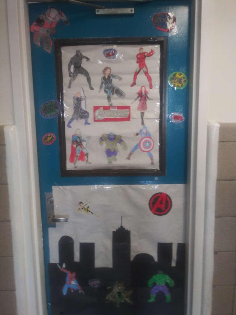 Avengers Door