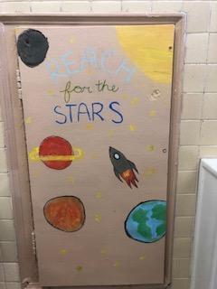 Reach for the stars door