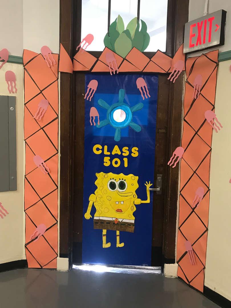 Class 501 Spongebob