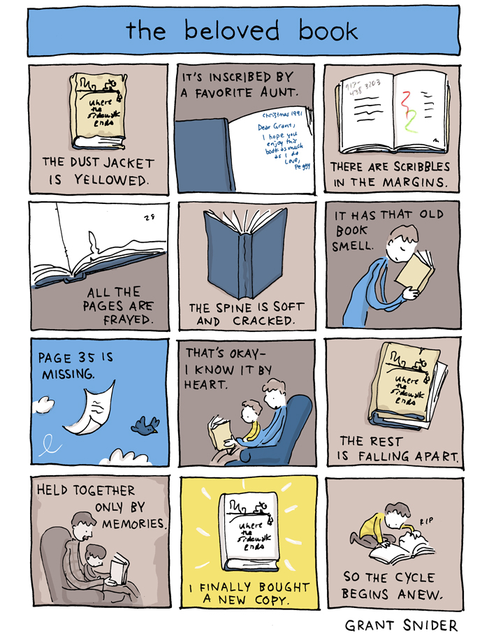 Signs of a beloved book image