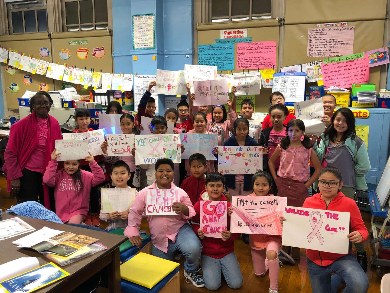 Class 5-5 Breast Cancer Walk Participants