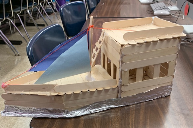 A student Boat maker space project