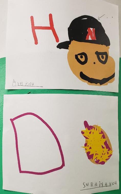 Pixie 4 student work