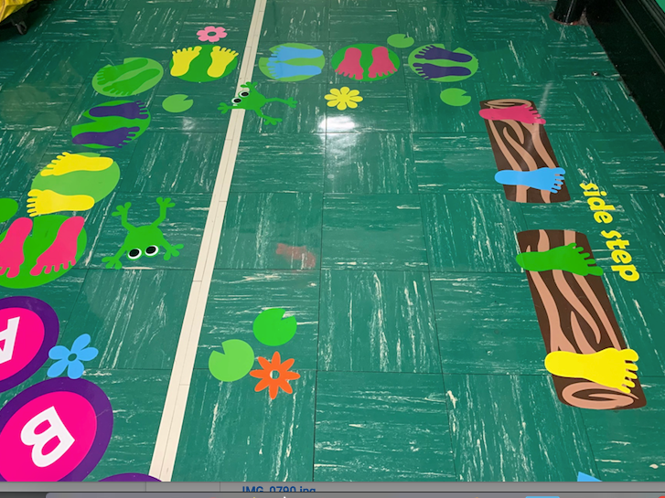 Our Sensory Hallway activity