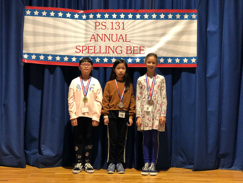 Top three Spelling Bee winners
