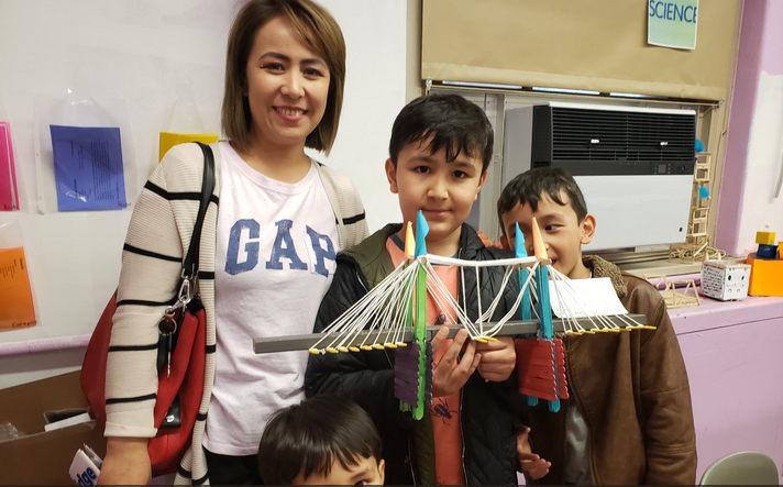 The Maker Space Showcase features student projects