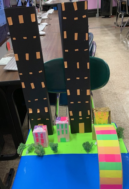 A student Maker Space Tower Project
