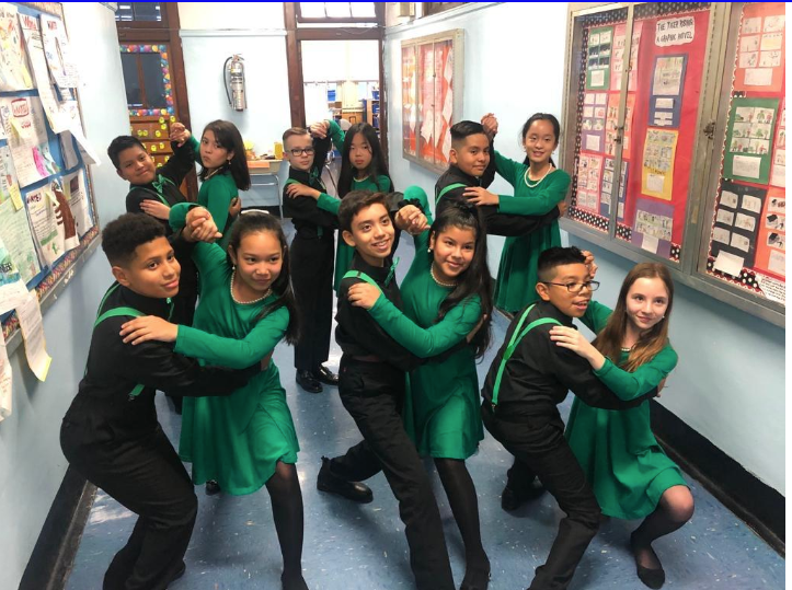 PS 131's Dance club dancers