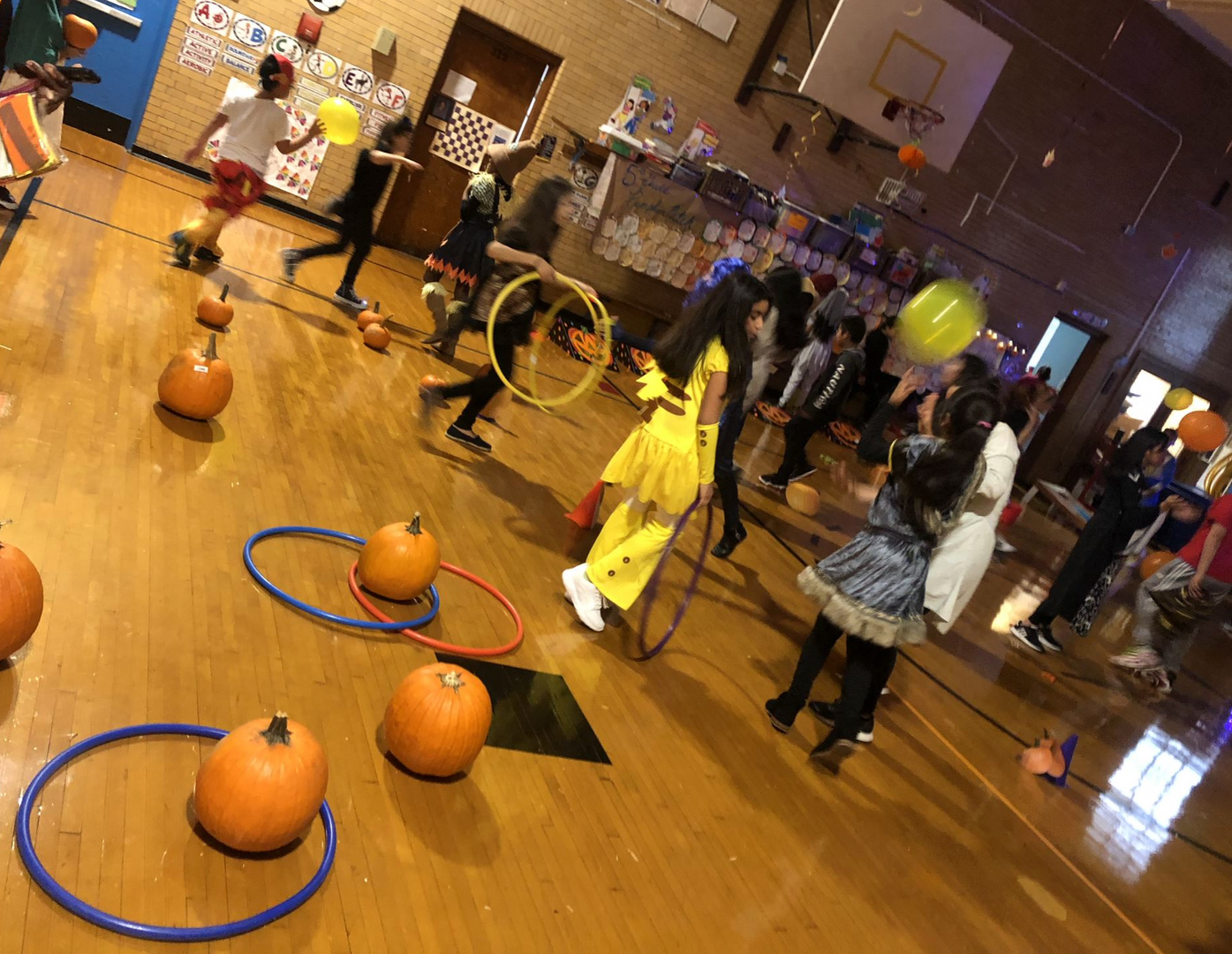 Activities at the Fall Festival