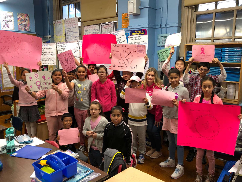 Class 5-6 Breast Cancer Walk Participants