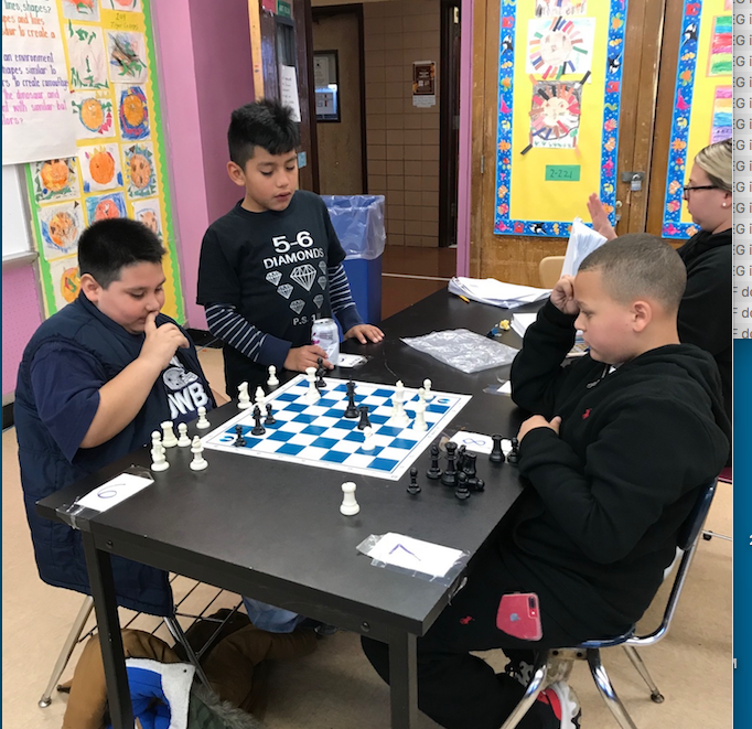 Concentration and focus are key to a good outcome in Chess.