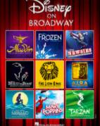 Aladdin Frozen Newsies Beauty & the Beast Lion King Aida Little Mermaid Mary Poppins Tarzan