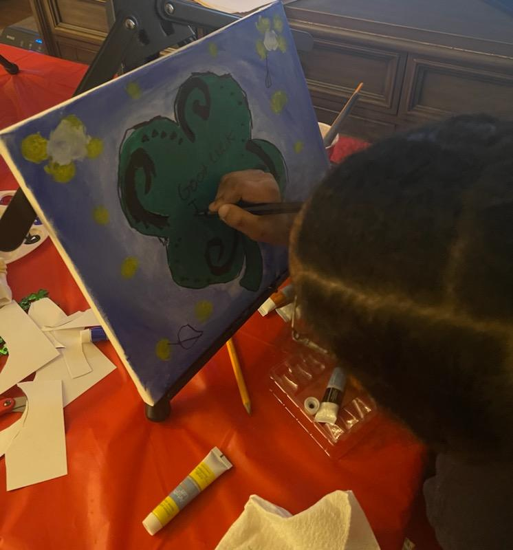 Pictures of paint night
