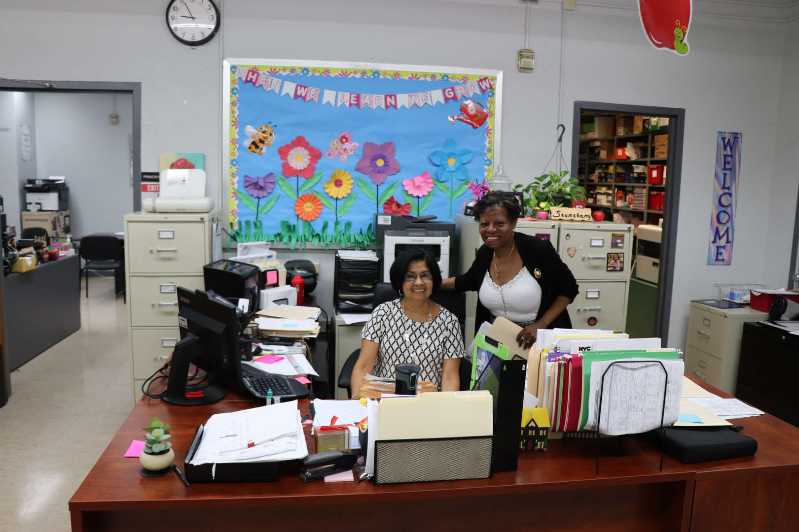 PS 152 secretaries