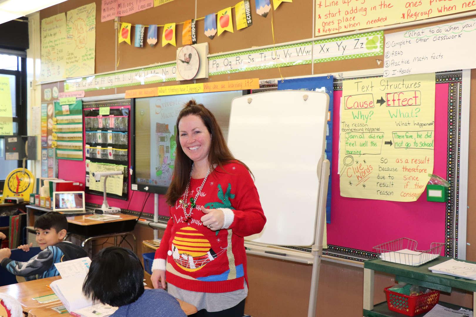 A Fourth Grade Teacher