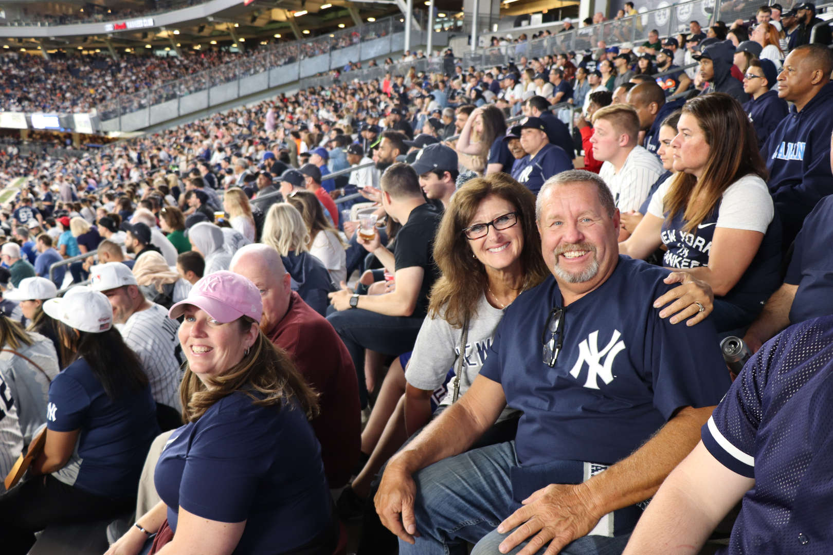 Some more teachers at the Yankee game.