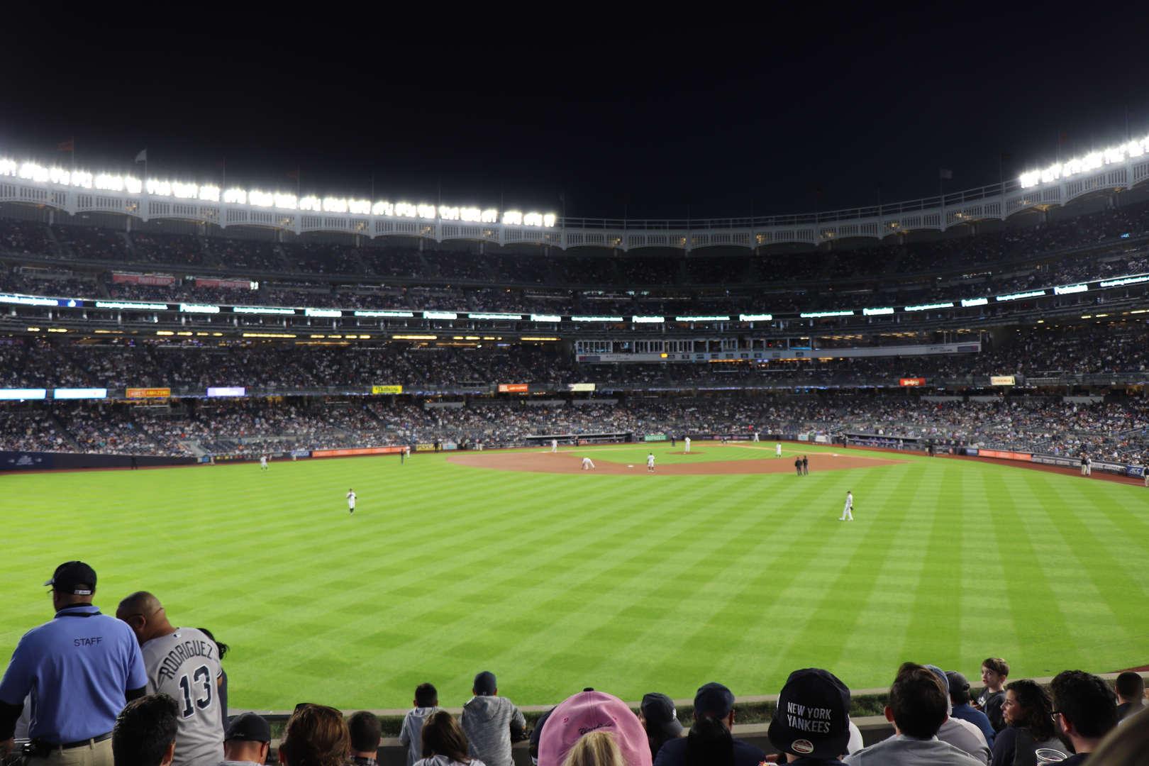 Yankee line up