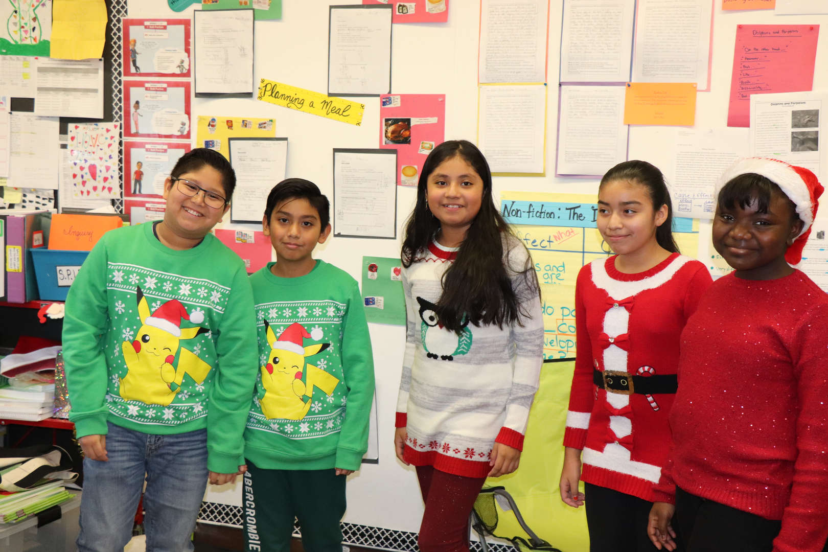 Some of the Fifth Grade students.