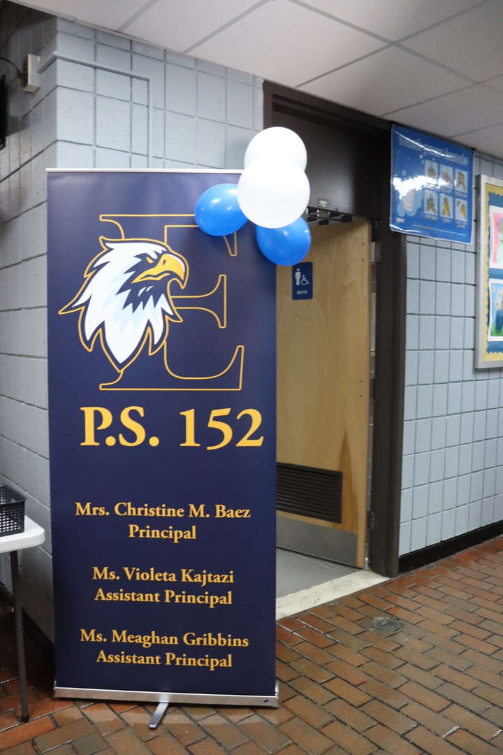 PS 152 Banner