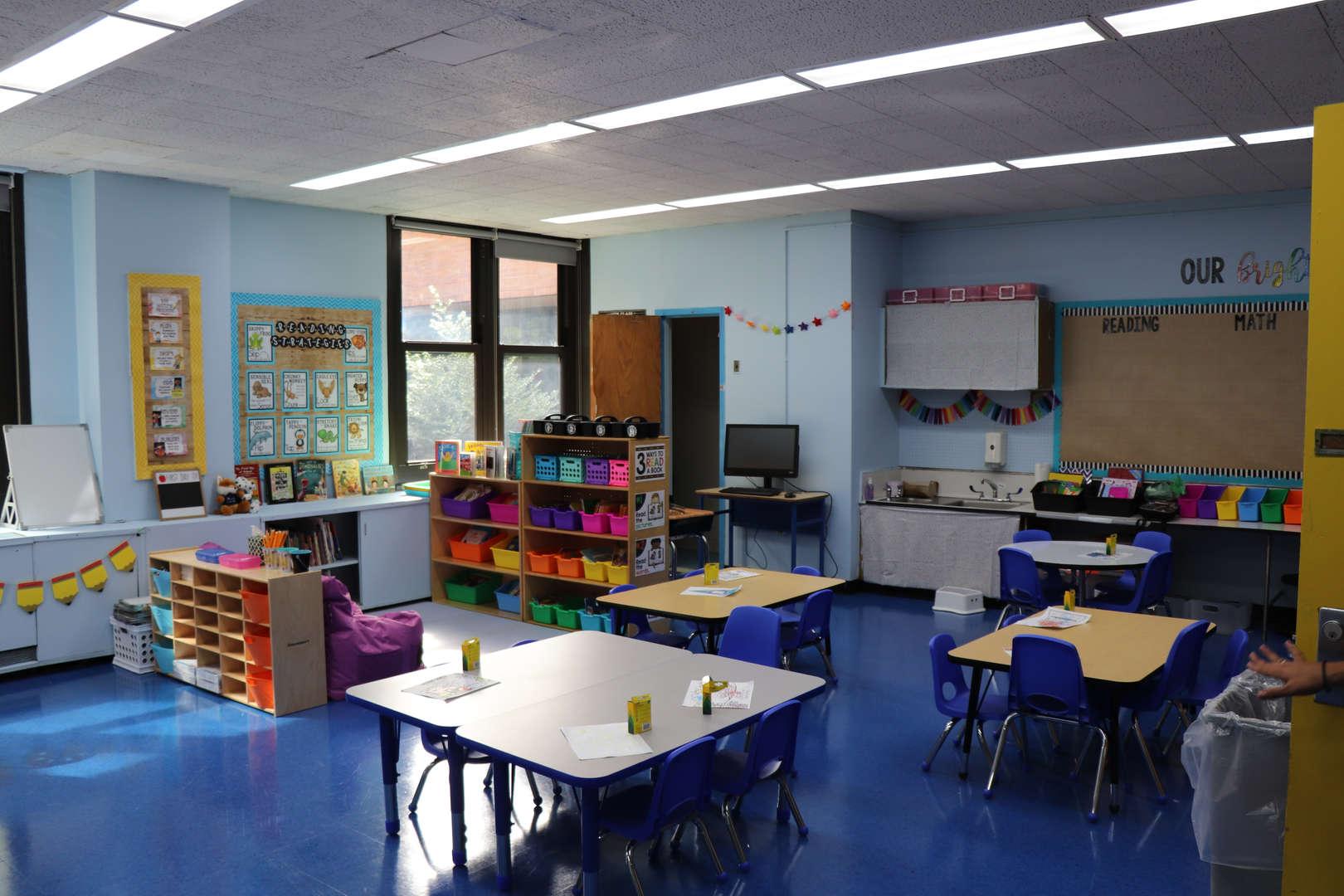 A kindergarten classroom.