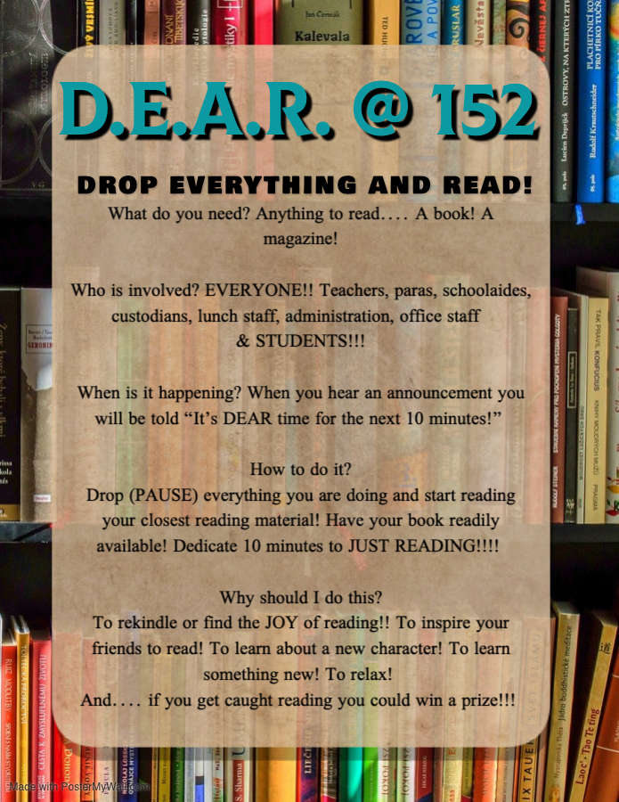 Drop Everything And Read.
