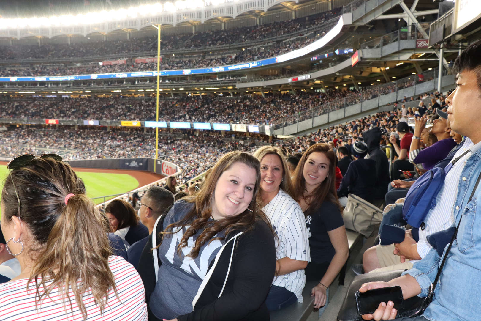 More of the PS 152  staff at the Yankee game