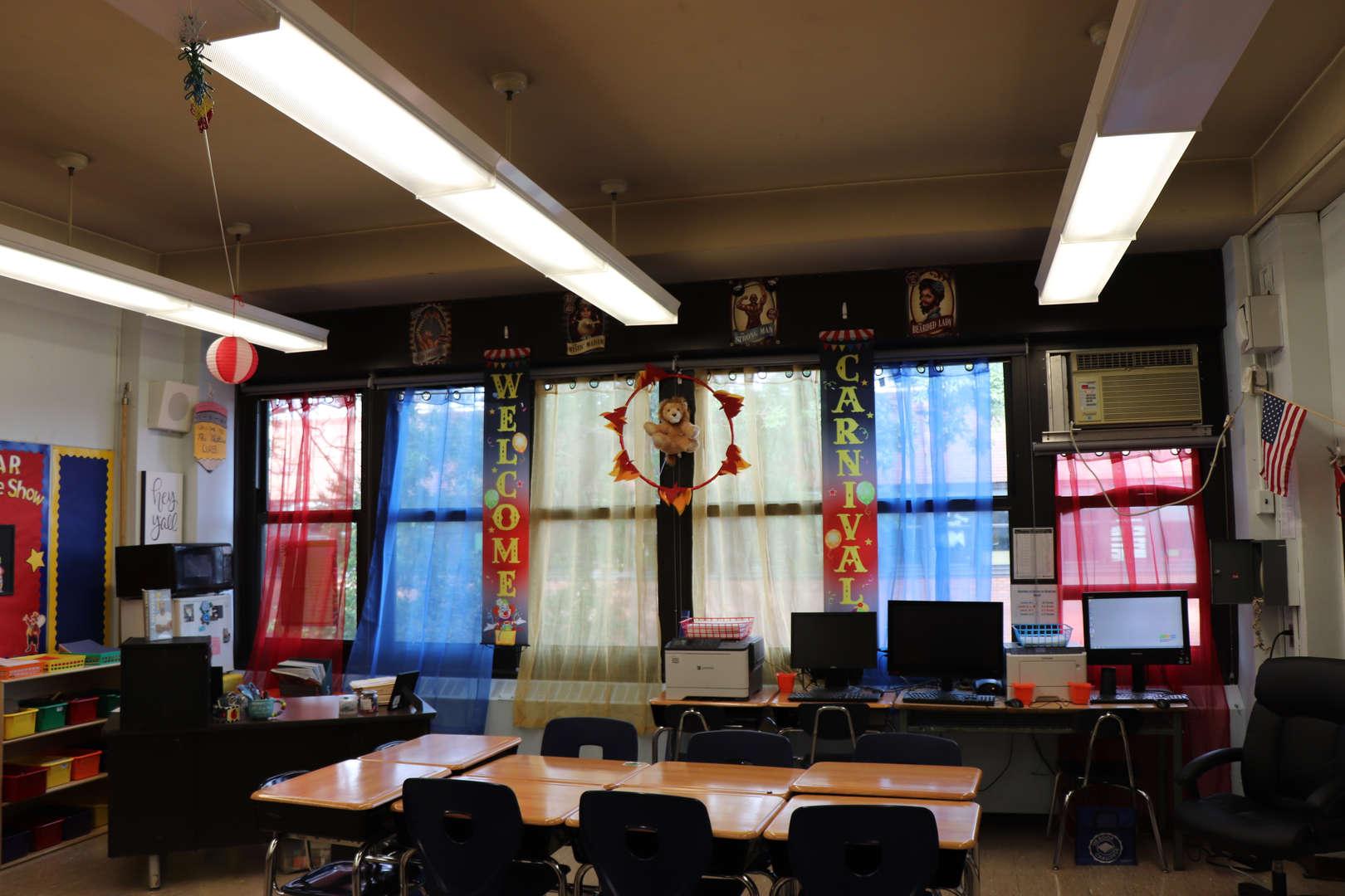 5th grade classroom circus theme