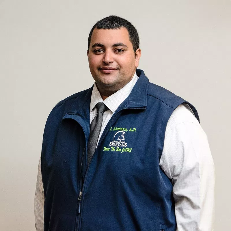 Tarek Alamarie assistant principal of guidance data and accountability