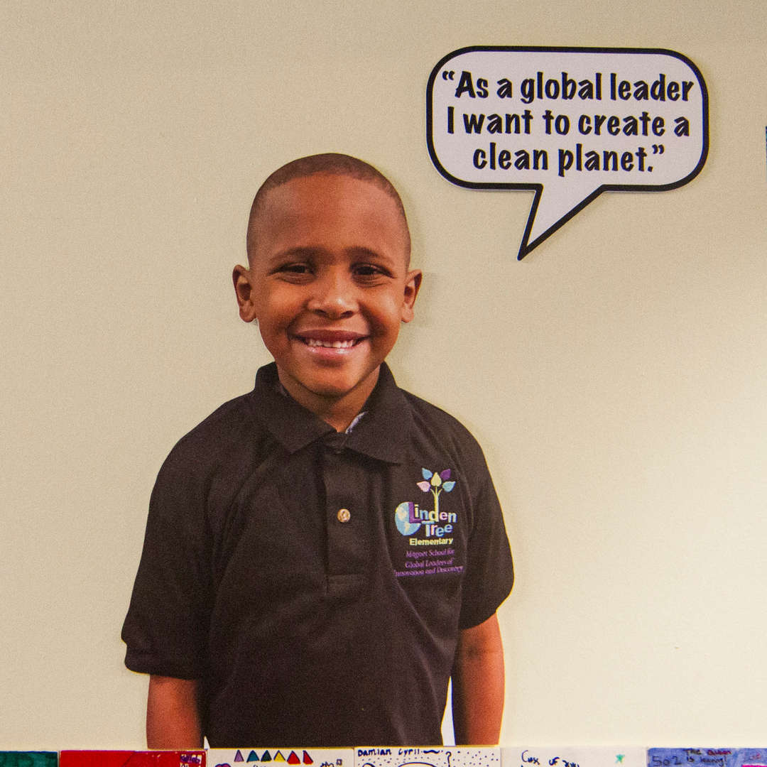 """As a global leader I want to create a clean planet."""