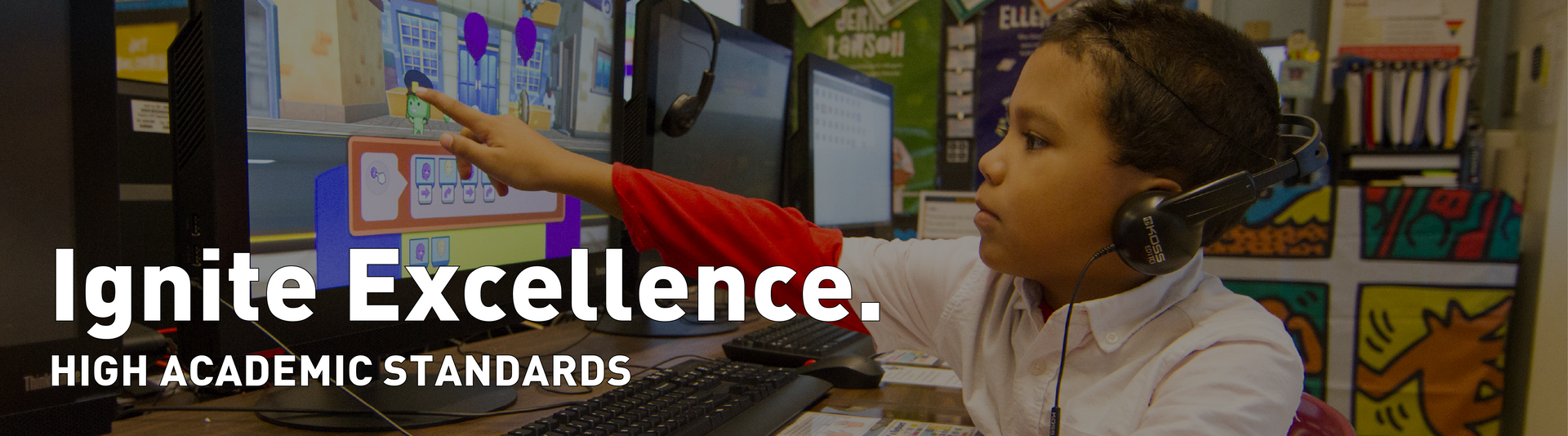 Ignite Excellence: high academic standards